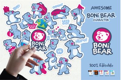 Boni Bear Characters