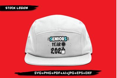 Seniors Year 2020 Virus SVG