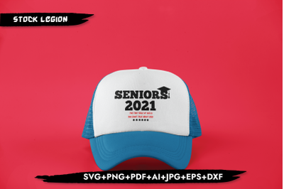 Seniors 2021 The First Rule SVG