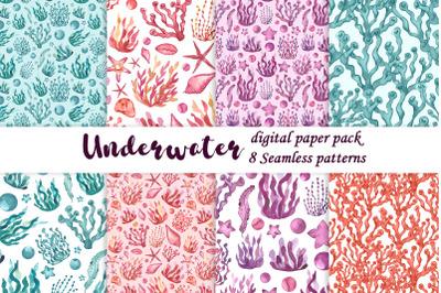 Underwater digital paper pack