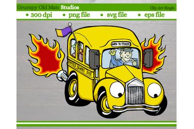 classic school bus | hot rod bus