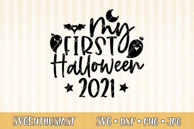 My first Halloween 2021 SVG cut file
