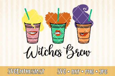 Witches brew SVG cut file