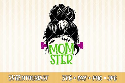 Momster SVG cut file