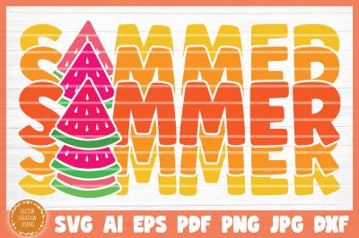 Summer Beach SVG Cut File