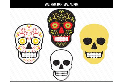 Skull SVG, Skull vector, Skull PNG files
