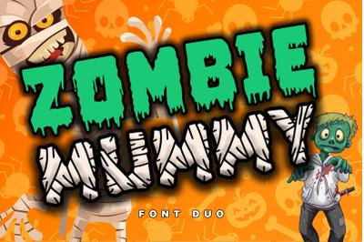 Zombie Mummy (FONT DUO)