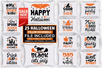 Halloween  Pillow SVG Bundle