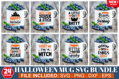 Halloween  Mug SVG Bundle