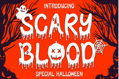 Scary Blood