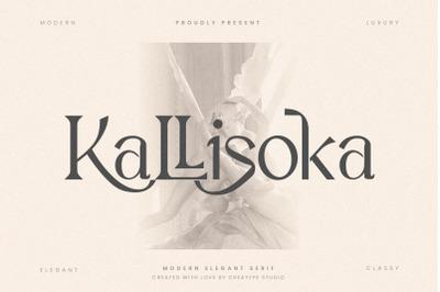 Kallisoka Modern Elegant Serif