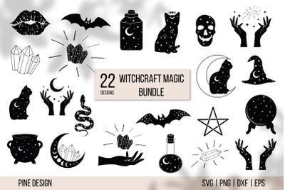Witchcraft Magic Bundle, magic SVG, witch SVG