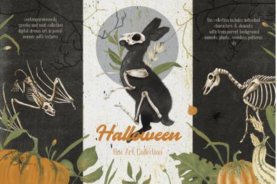 Halloween Fine Art Collection. Sublimation Designs.