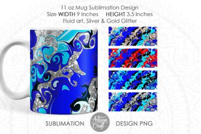 Sublimation mug designs, 11 oz mug sublimation template