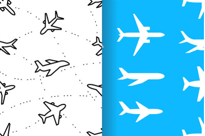 pattern with Airplanes