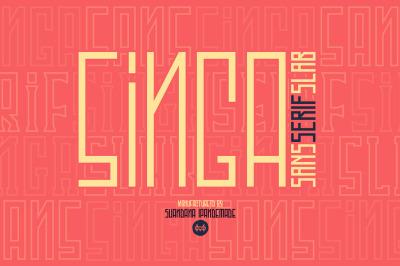 Singa - 54 Variable Font