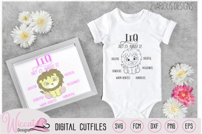 Baby girl Leo, Zodiac sign, Leo traits,