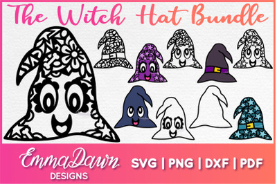 The WITCH HAT SVG BUNDLE 10 DESIGNS