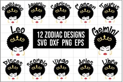 12 Zodiac Designs