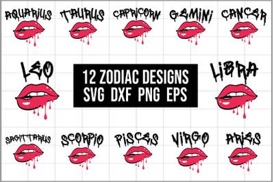 12 Zodiac Signs