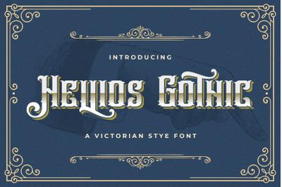 Hellios Gothic - Blackletter Font