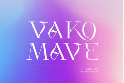 Vako Mave - Modern Serif