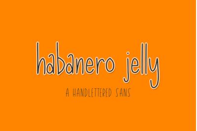 Habanero Jelly Sans