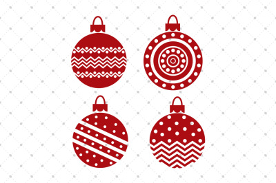 Christmas SVG Ornaments