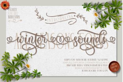Winter Sounds | All Season Fonts