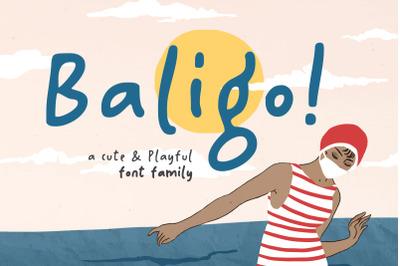 Baligo - Playful Font Family