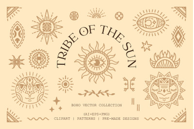 Tribe of the Sun. Boho collection