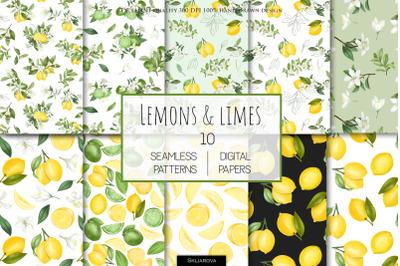 Lemon patterns set