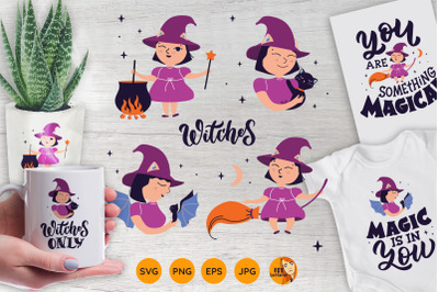 Magic baby witches bundle
