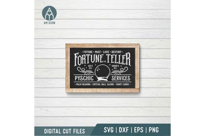 Fortune Teller svg, Pyschic Service, Halloween svg cut file