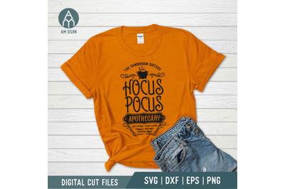 Hocus Pocus Apothecary svg, Sanderson Sisters svg, Halloween svg cut