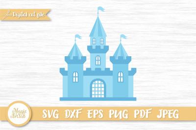 Castle svg, Princess castle svg, Magic castle cut file, Magic world