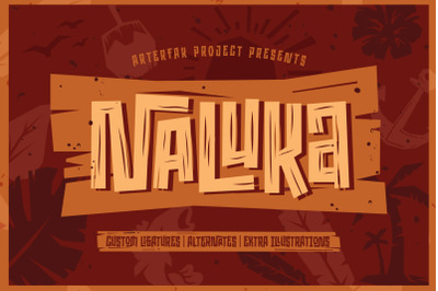 Naluka - Ethnic Font with Extras
