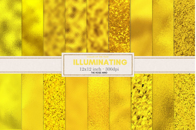 Illuminating, color of the year