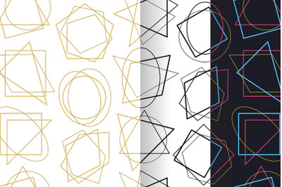 Pattern Geometric lines