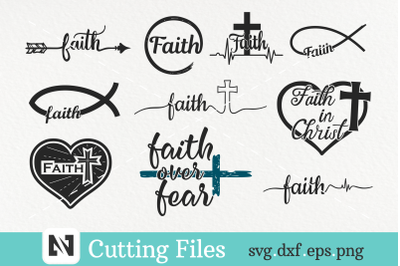 Faith Svg Bundle, Jesus Svg, Christian Svg, Catholic Svg