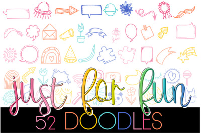 Just For Fun Doodles Font