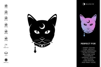 Mythical Cat SVG | Halloween SVG