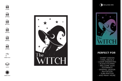 The Witch SVG | Halloween SVG