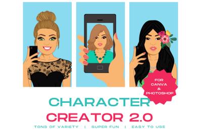 Character Creator 2.0 | Avatar Maker | DYI Portrait Creator | Graphics