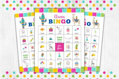 Llama Bingo, Bingo Game
