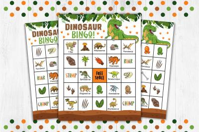 Dinosaur Bingo, Dinosaur Game