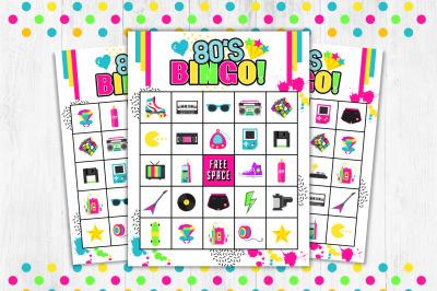 80s Bingo, 80s Game