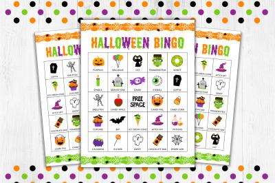 Halloween Bingo, Halloween Game
