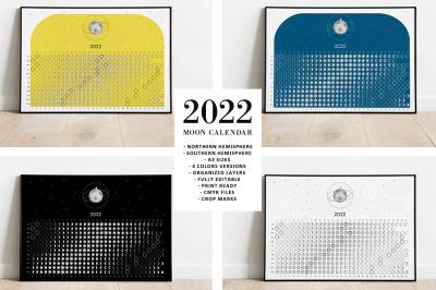 Moon Calendar 2022
