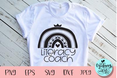 Literacy coach svg, school svg